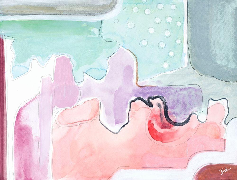 konfigurieren des Kunstdrucks in Wunschgröße Pink Mountains von Pinto, Patricia