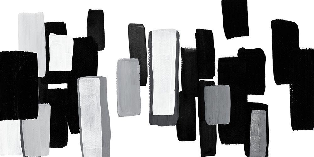 konfigurieren des Kunstdrucks in Wunschgröße Modern Grooves I von Loreth, Lanie