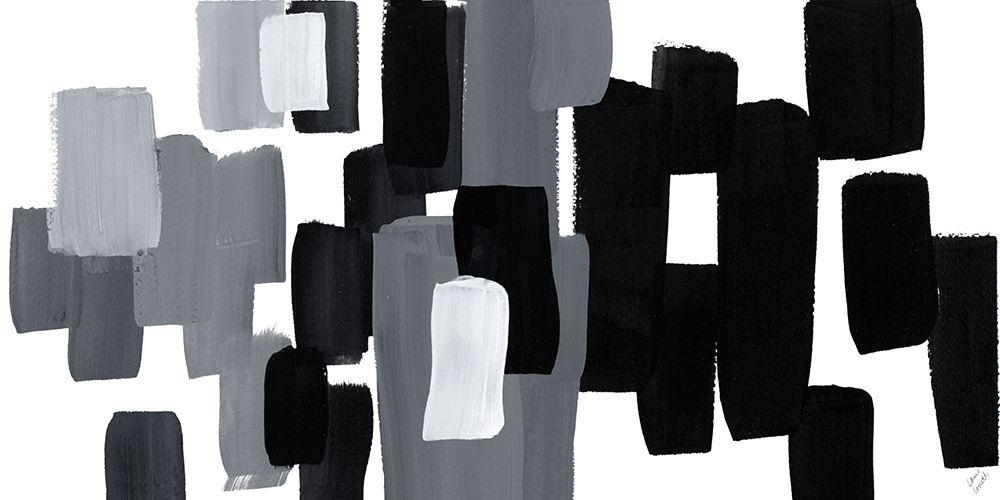 konfigurieren des Kunstdrucks in Wunschgröße Modern Grooves II von Loreth, Lanie