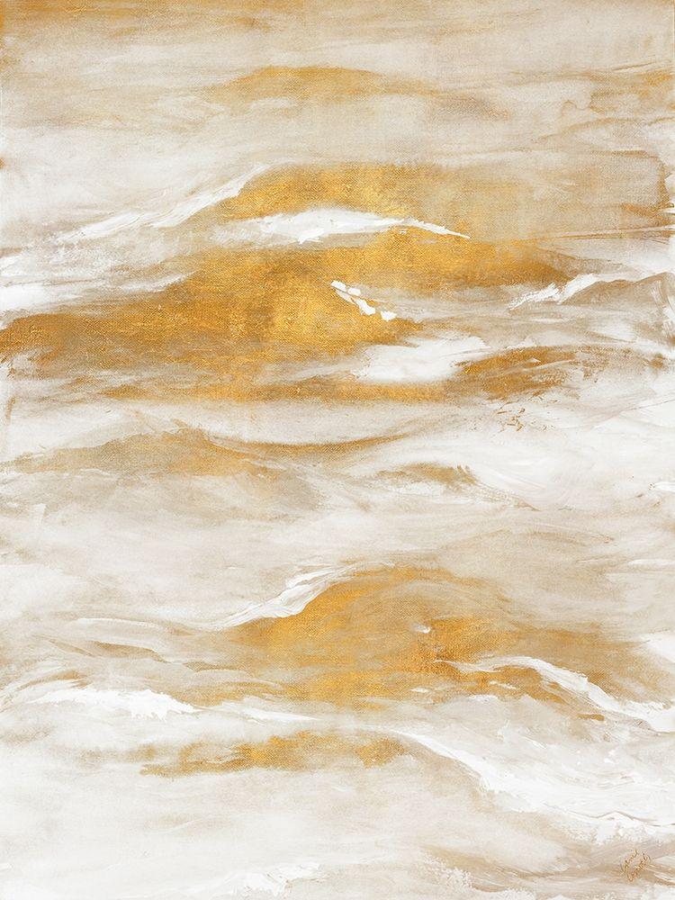 konfigurieren des Kunstdrucks in Wunschgröße Golden Sea I von Loreth, Lanie