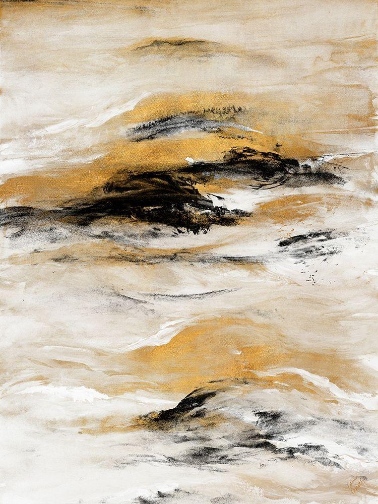 konfigurieren des Kunstdrucks in Wunschgröße Gold Touch I von Loreth, Lanie