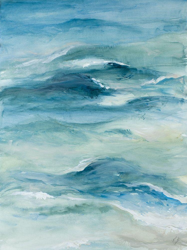 konfigurieren des Kunstdrucks in Wunschgröße Roaming Sea I von Loreth, Lanie