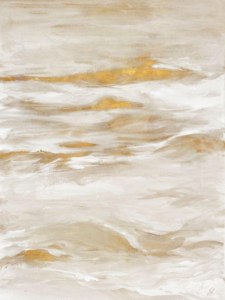 konfigurieren des Kunstdrucks in Wunschgröße Golden Sea II von Loreth, Lanie