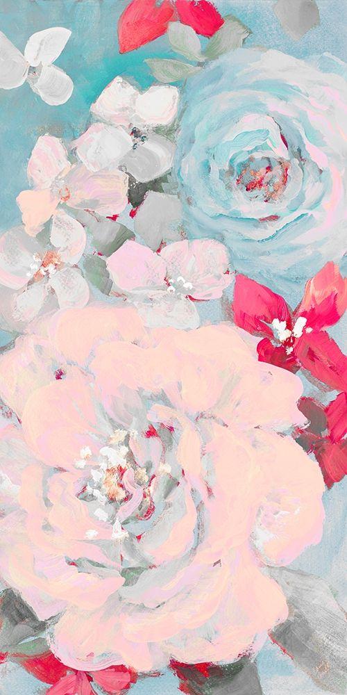 konfigurieren des Kunstdrucks in Wunschgröße Abundant Garden Pastel I von Loreth, Lanie