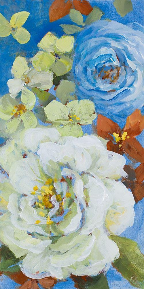 konfigurieren des Kunstdrucks in Wunschgröße Abundant Garden I von Loreth, Lanie