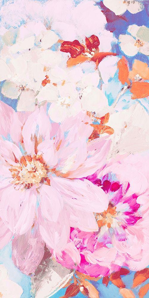 konfigurieren des Kunstdrucks in Wunschgröße Abundant Garden Pastel II von Loreth, Lanie