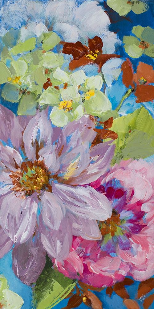 konfigurieren des Kunstdrucks in Wunschgröße Abundant Garden II von Loreth, Lanie