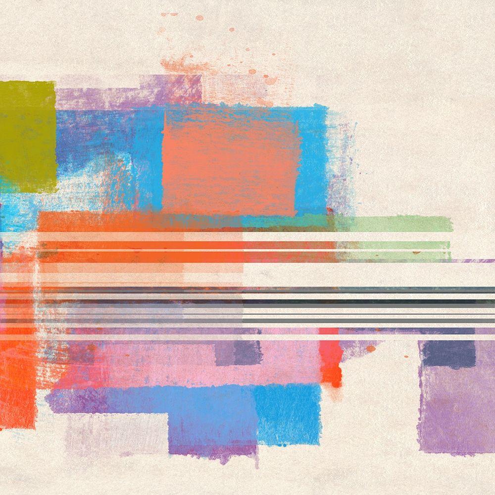 konfigurieren des Kunstdrucks in Wunschgröße Summer Squares III von Meneely, Dan