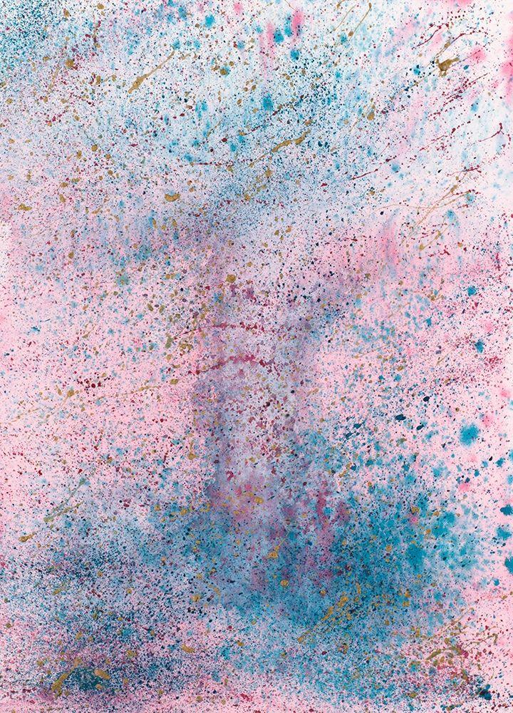konfigurieren des Kunstdrucks in Wunschgröße Pink and Blue Splash von Bucheli, Amaya