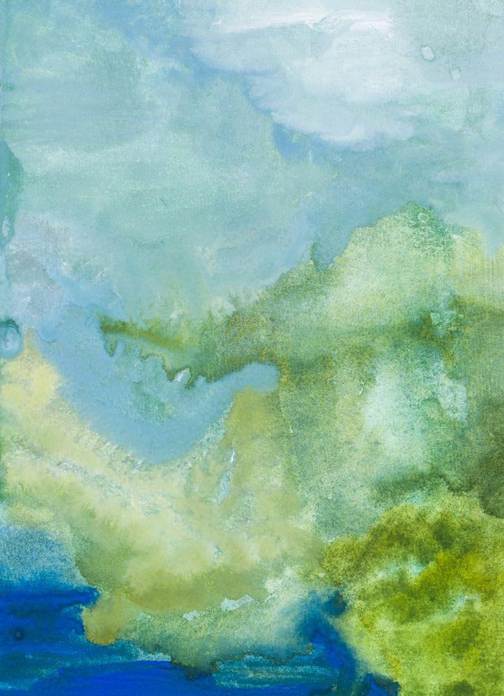konfigurieren des Kunstdrucks in Wunschgröße Blue Washed Skies von Danelle, B.
