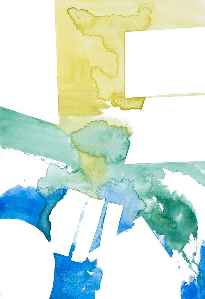 konfigurieren des Kunstdrucks in Wunschgröße Urban Waters von Danelle, B.