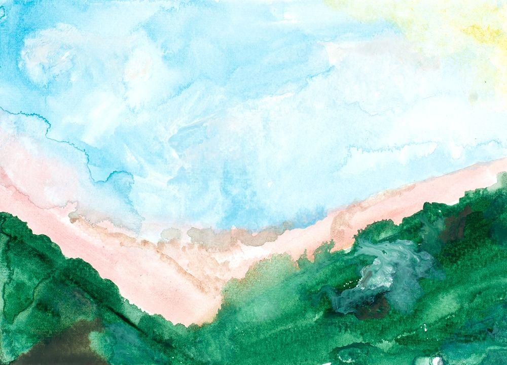konfigurieren des Kunstdrucks in Wunschgröße Washed Landscape von Danelle, B.