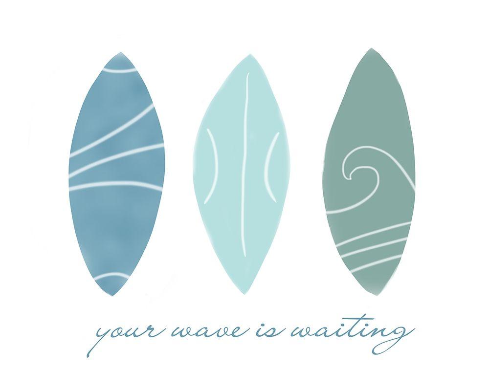 konfigurieren des Kunstdrucks in Wunschgröße Your Wave von Quach, Anna