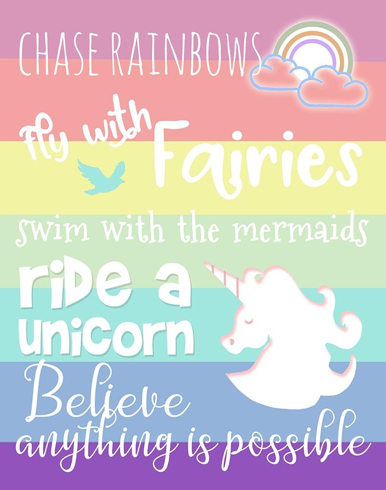 konfigurieren des Kunstdrucks in Wunschgröße Chase Rainbows von Quach, Anna