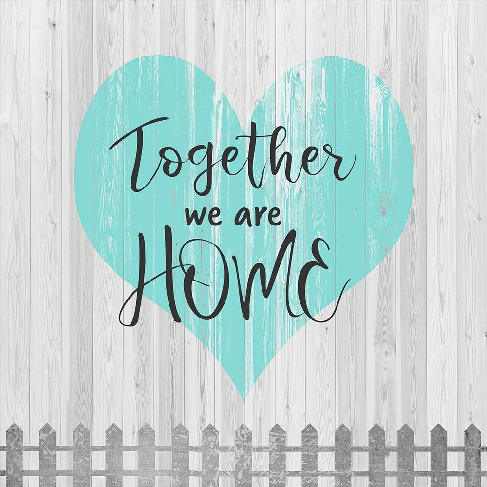 konfigurieren des Kunstdrucks in Wunschgröße Home Together von Quach, Anna