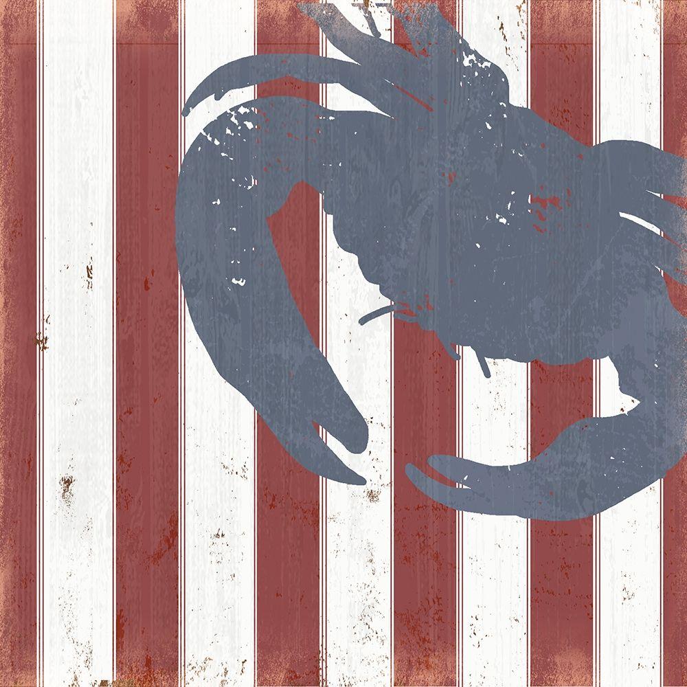 konfigurieren des Kunstdrucks in Wunschgröße American Coastal I von Quach, Anna