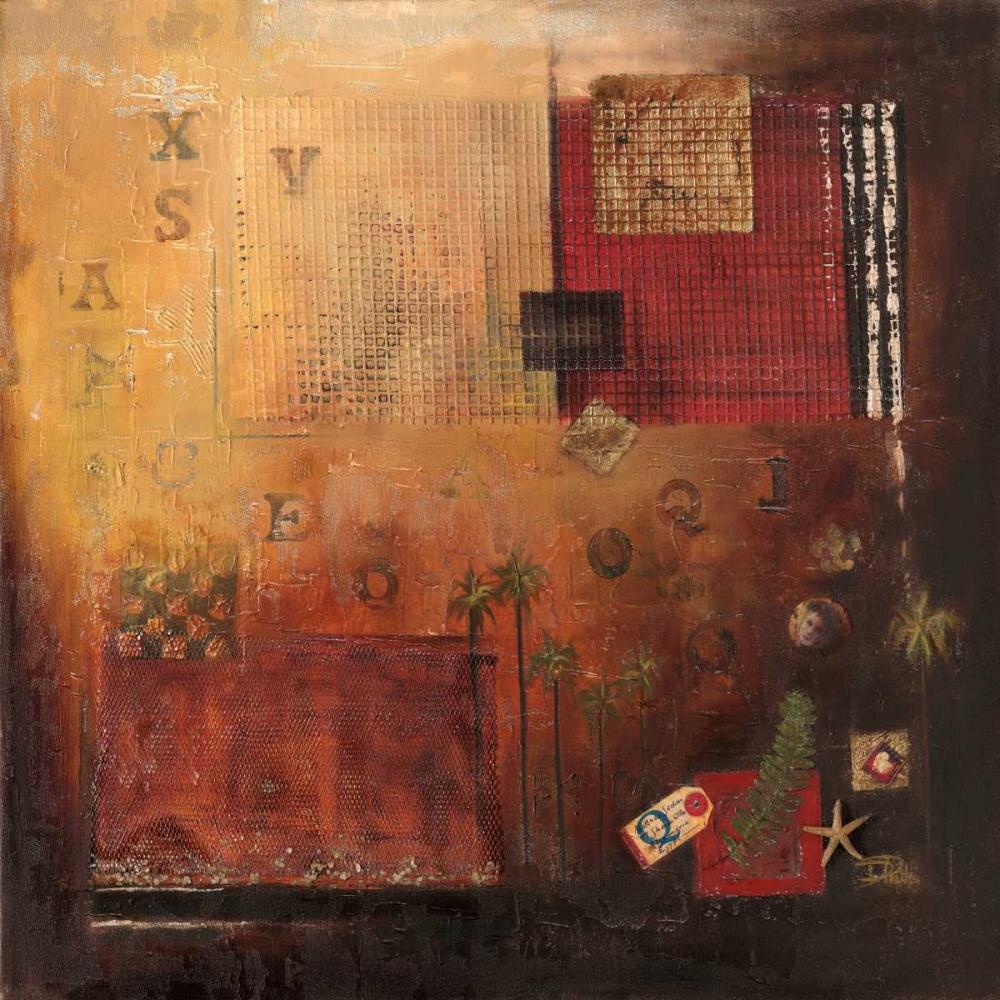 konfigurieren des Kunstdrucks in Wunschgröße Nueva Era I von Pinto, Patricia