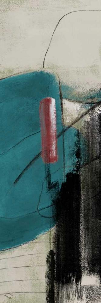 konfigurieren des Kunstdrucks in Wunschgröße Night in the City II von Loreth, Lanie