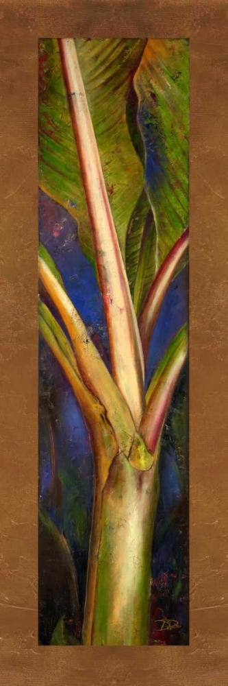konfigurieren des Kunstdrucks in Wunschgröße Blue Plantain von Pinto, Patricia