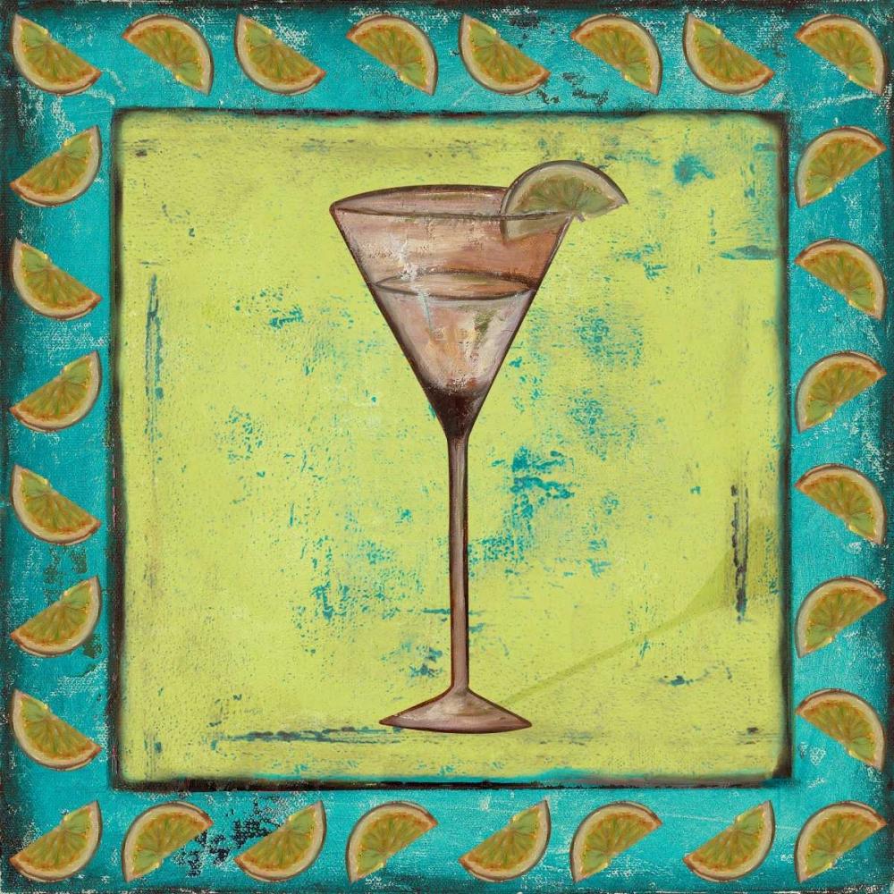konfigurieren des Kunstdrucks in Wunschgröße Lime Coctelito von Pinto, Patricia