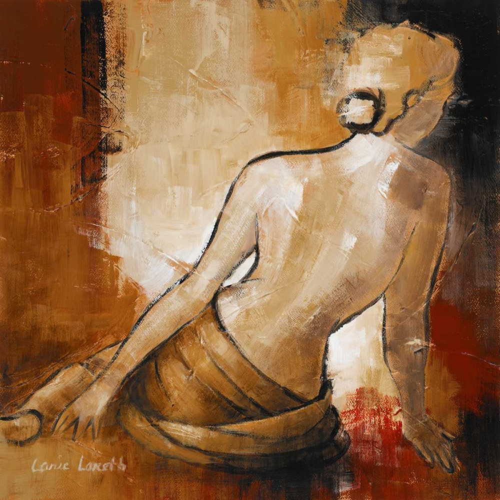 konfigurieren des Kunstdrucks in Wunschgröße Seated Woman I von Loreth, Lanie
