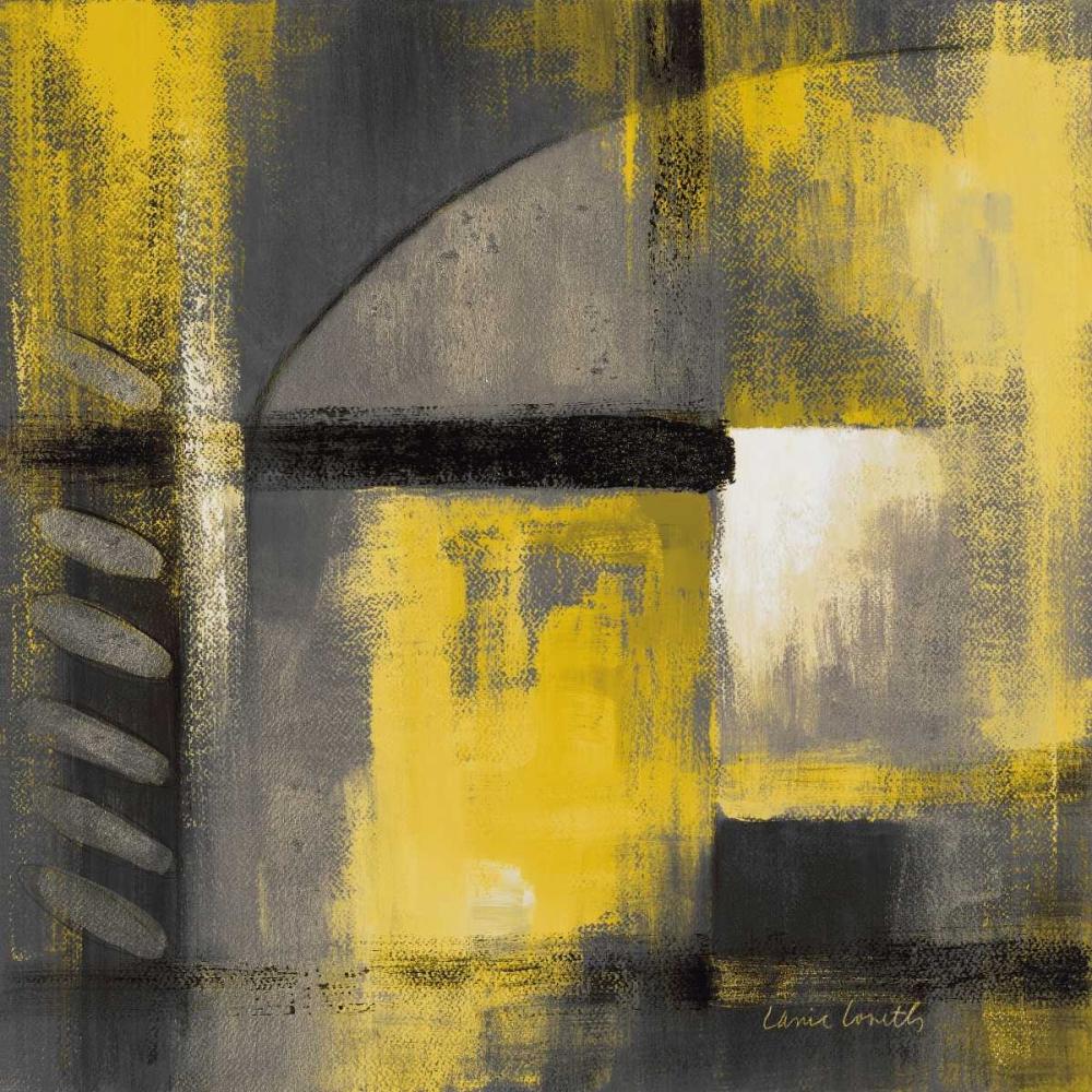 konfigurieren des Kunstdrucks in Wunschgröße Grey and Yellow Soiree I von Loreth, Lanie