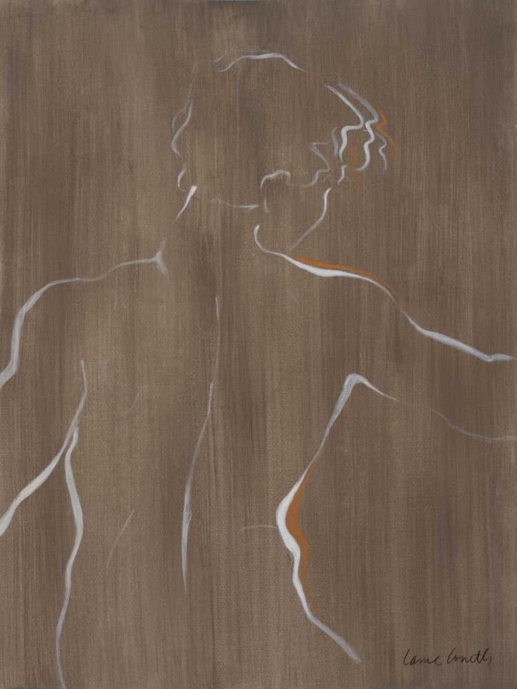 konfigurieren des Kunstdrucks in Wunschgröße Standing Male Figure von Loreth, Lanie
