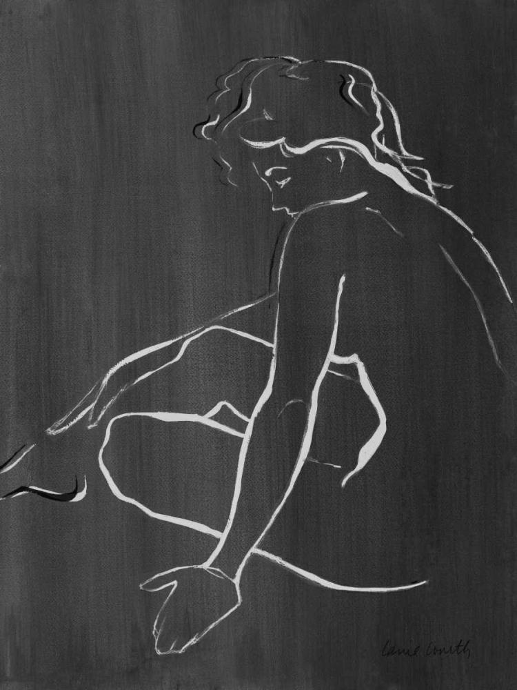 konfigurieren des Kunstdrucks in Wunschgröße Sketched in Black II von Loreth, Lanie