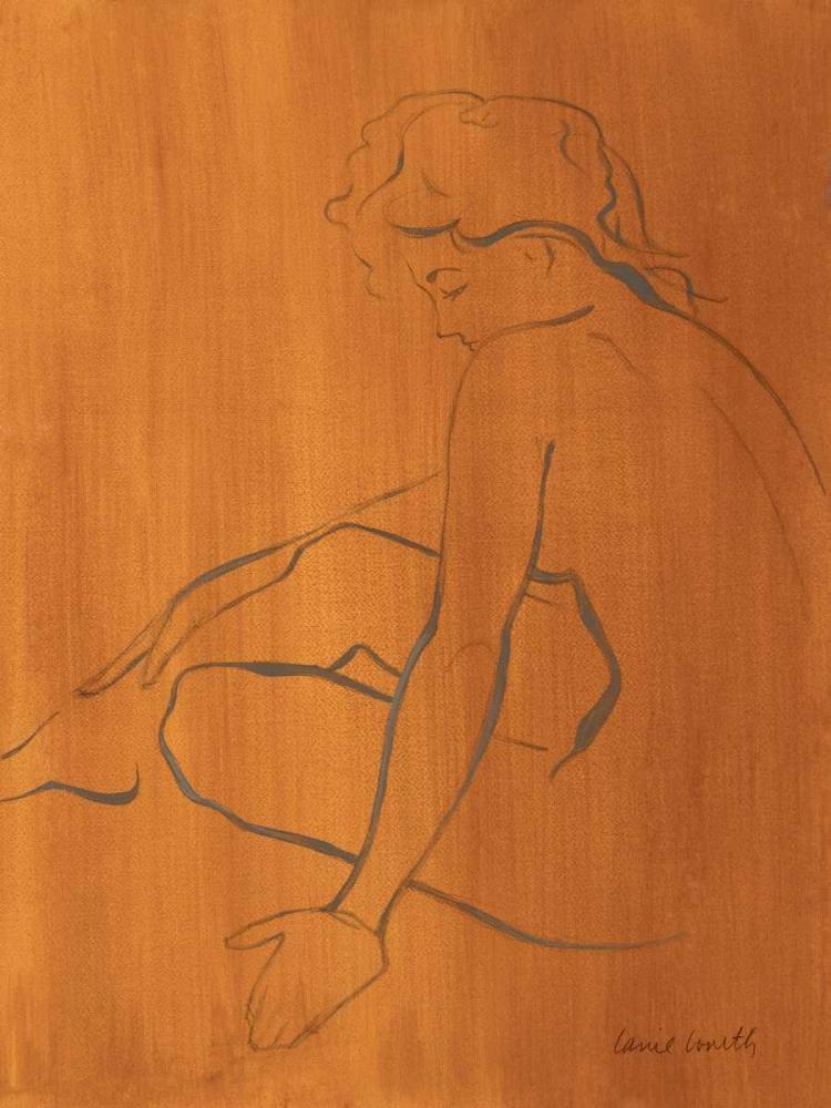 konfigurieren des Kunstdrucks in Wunschgröße Seated Female Figure von Loreth, Lanie