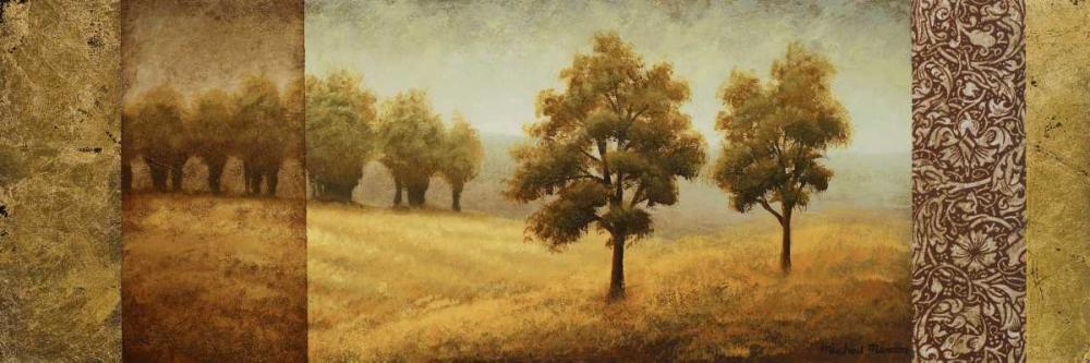 konfigurieren des Kunstdrucks in Wunschgröße Golden Valley I von Marcon, Michael