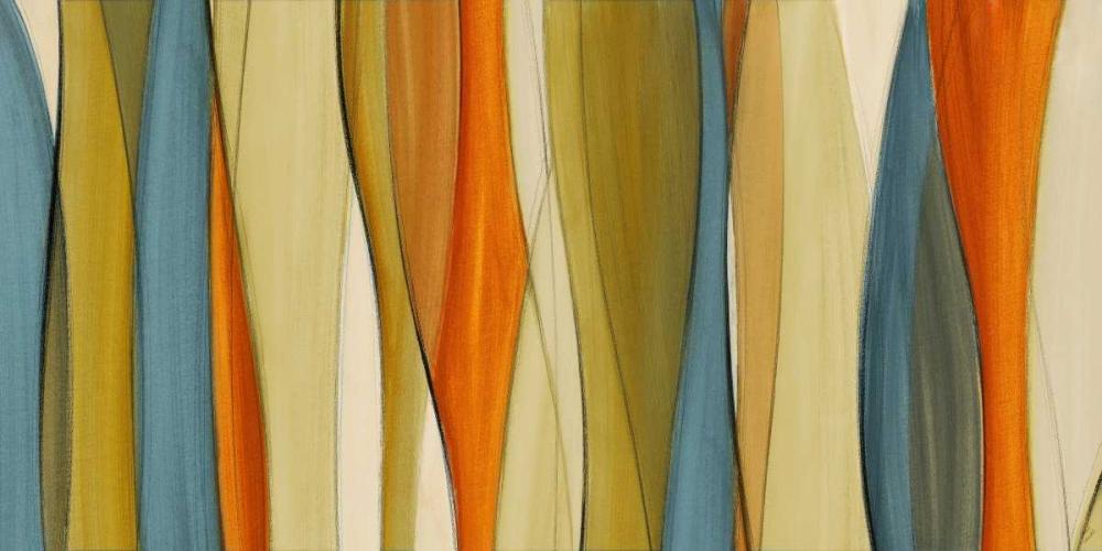 konfigurieren des Kunstdrucks in Wunschgröße Coalescence Curves von Loreth, Lanie