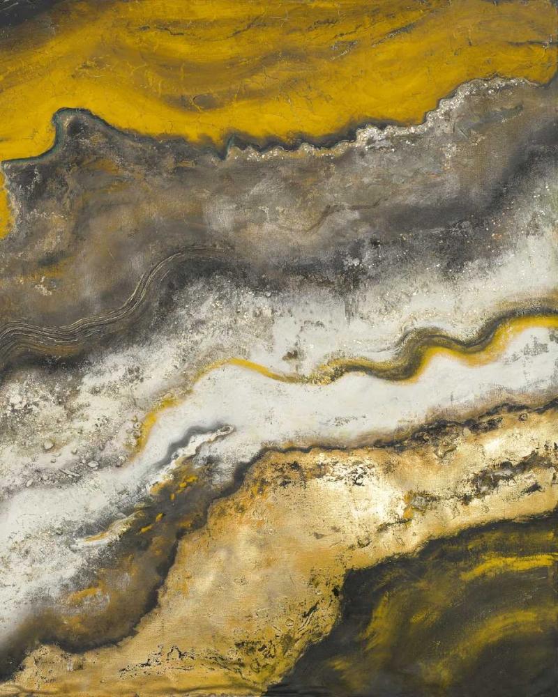 konfigurieren des Kunstdrucks in Wunschgröße Lava Flow II von Pinto, Patricia