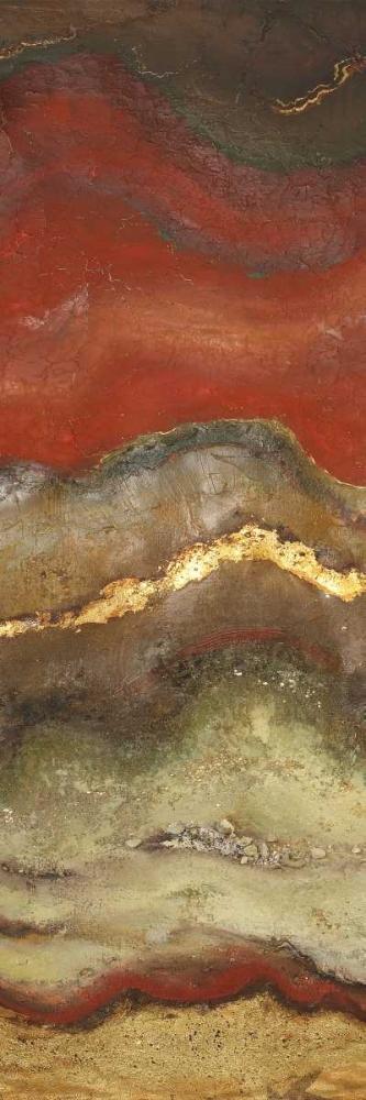 konfigurieren des Kunstdrucks in Wunschgröße Tierra Panel I von Pinto, Patricia