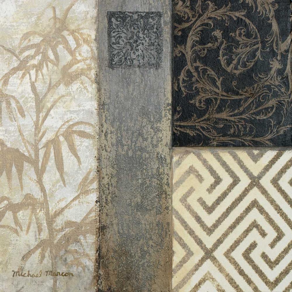 konfigurieren des Kunstdrucks in Wunschgröße Eastern Square II von Marcon, Michael