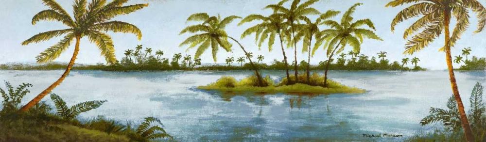 konfigurieren des Kunstdrucks in Wunschgröße Cool Tropics I von Marcon, Michael