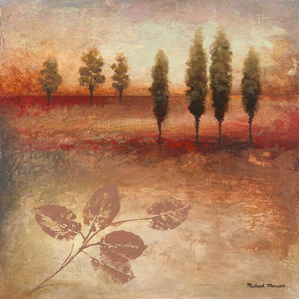 konfigurieren des Kunstdrucks in Wunschgröße Warm Textural Landscape II von Marcon, Michael