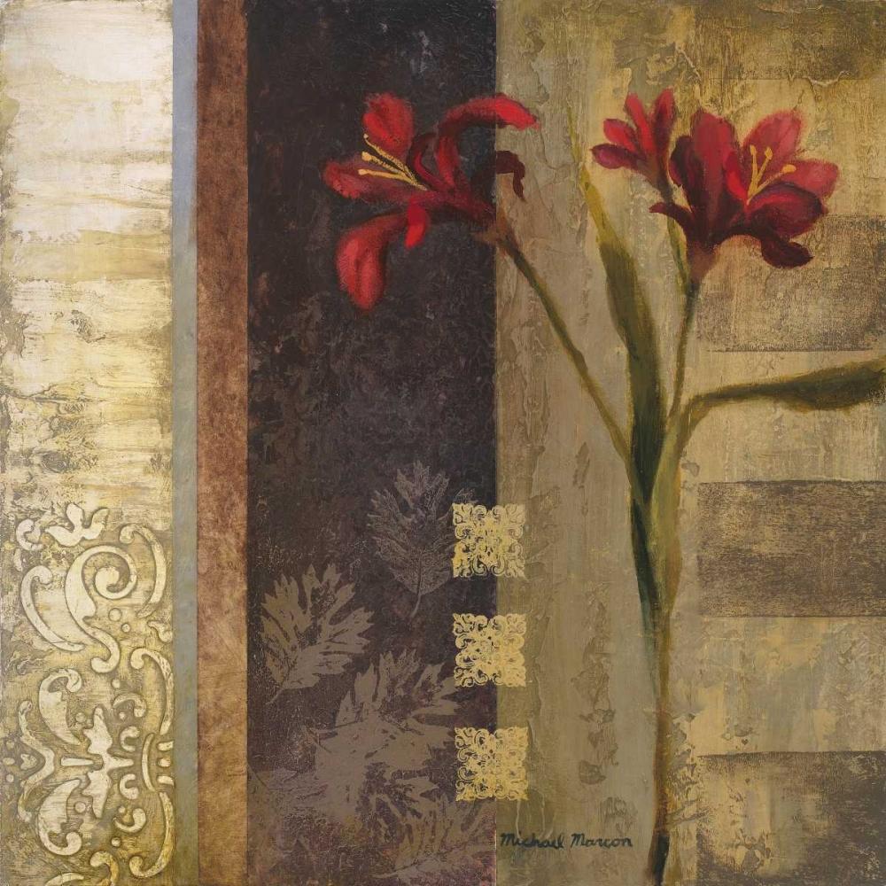 konfigurieren des Kunstdrucks in Wunschgröße Elegance I von Marcon, Michael