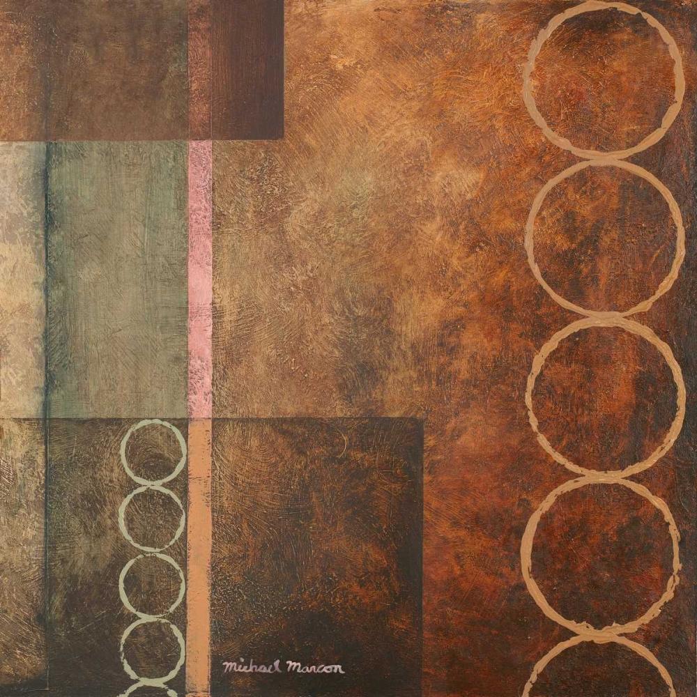 konfigurieren des Kunstdrucks in Wunschgröße Circles in the Abstract I von Marcon, Michael
