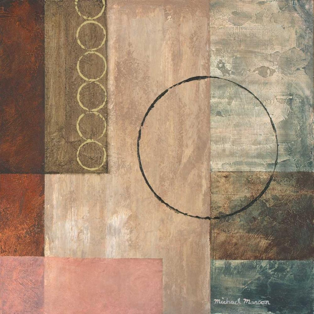 konfigurieren des Kunstdrucks in Wunschgröße Circles in the Abstract II von Marcon, Michael