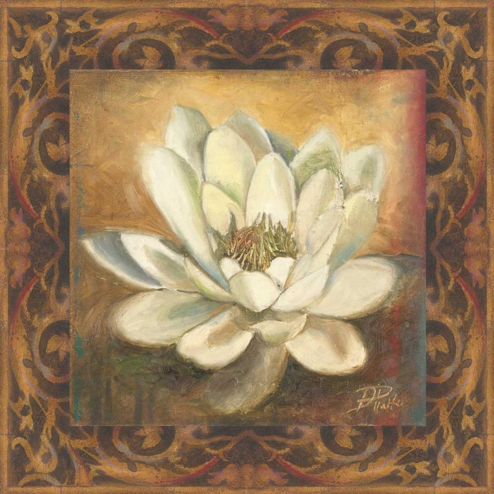 konfigurieren des Kunstdrucks in Wunschgröße Water Lily von Pinto, Patricia