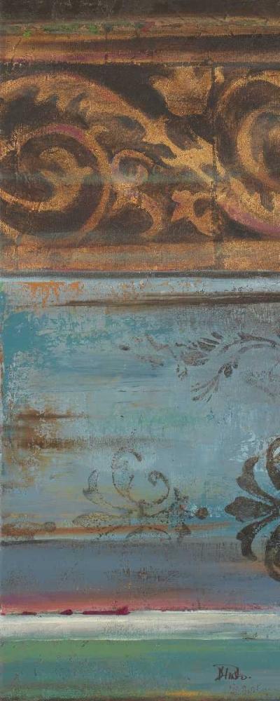 konfigurieren des Kunstdrucks in Wunschgröße Blue Eclectic VI von Pinto, Patricia
