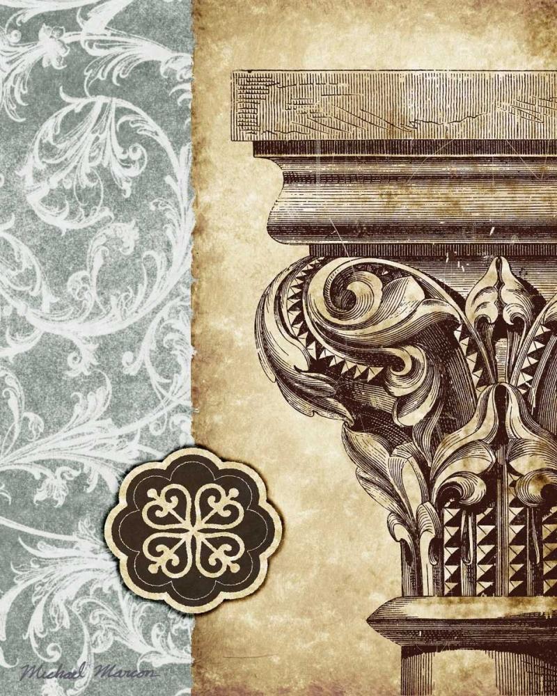 konfigurieren des Kunstdrucks in Wunschgröße Romanesque I von Marcon, Michael