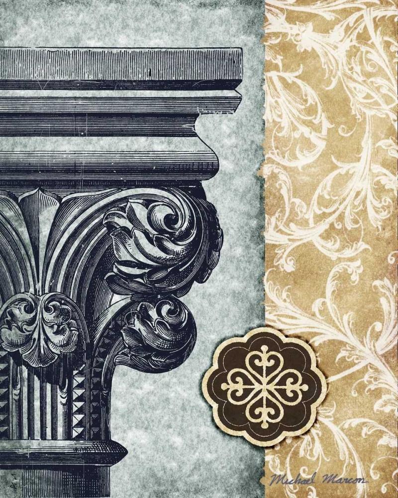 konfigurieren des Kunstdrucks in Wunschgröße Romanesque II von Marcon, Michael