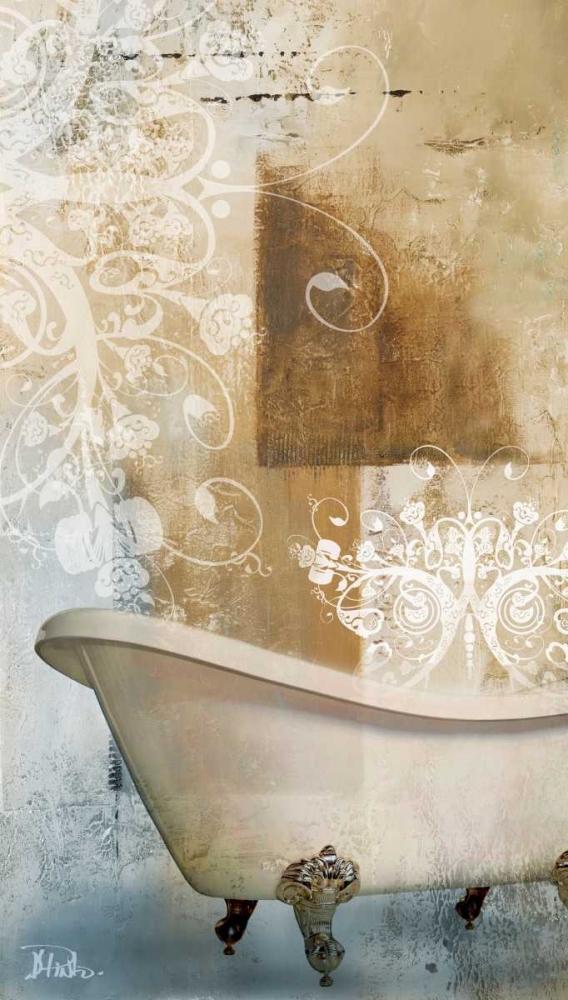 konfigurieren des Kunstdrucks in Wunschgröße Bathroom and Ornaments I von Pinto, Patricia
