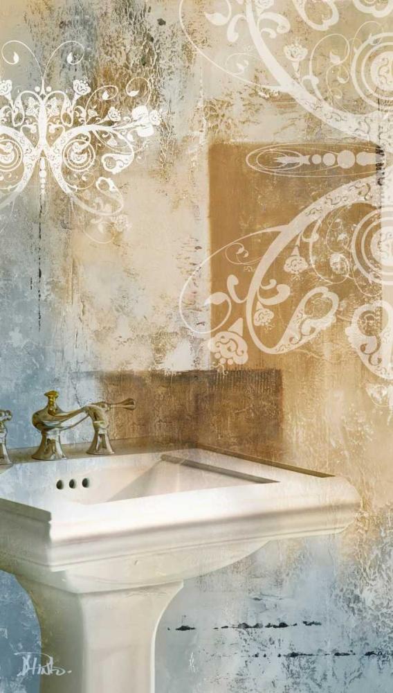 konfigurieren des Kunstdrucks in Wunschgröße Bathroom and Ornaments II von Pinto, Patricia