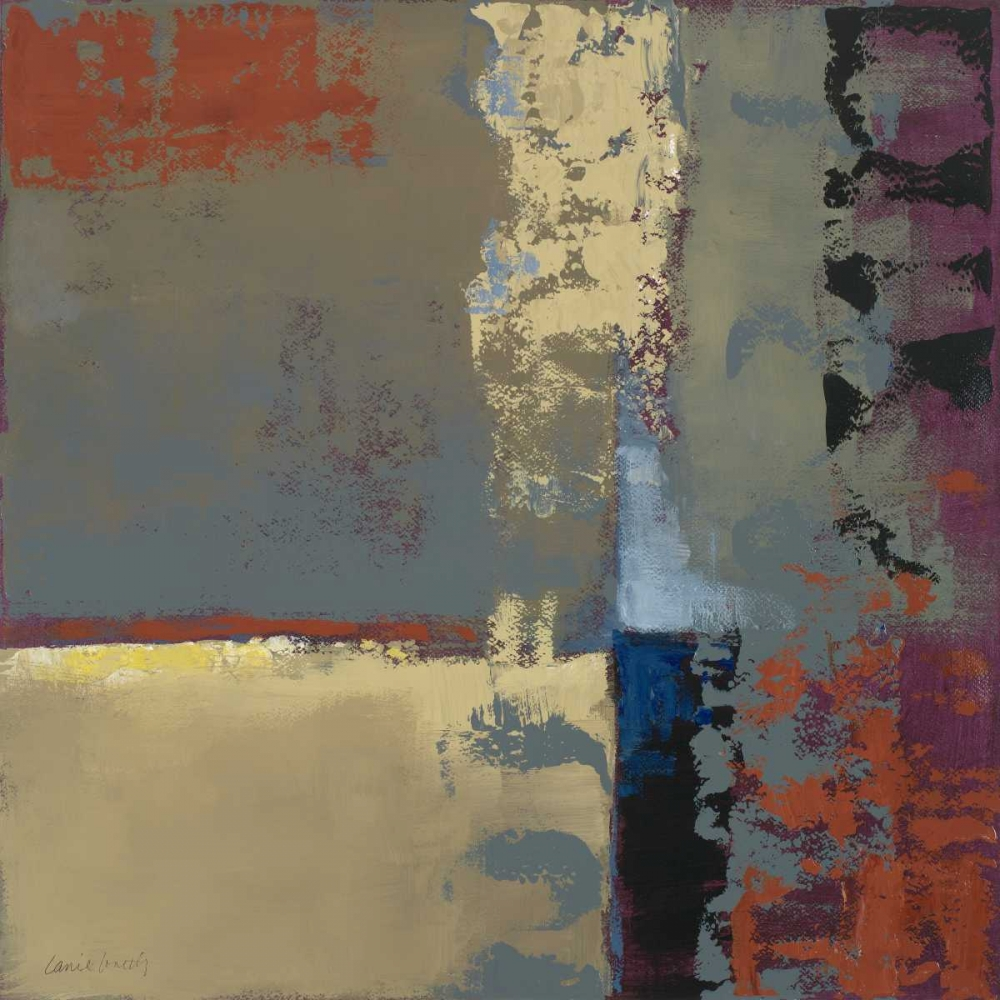 konfigurieren des Kunstdrucks in Wunschgröße Teal Perception II von Loreth, Lanie