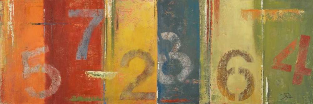 konfigurieren des Kunstdrucks in Wunschgröße Lucky Numbers I von Pinto, Patricia