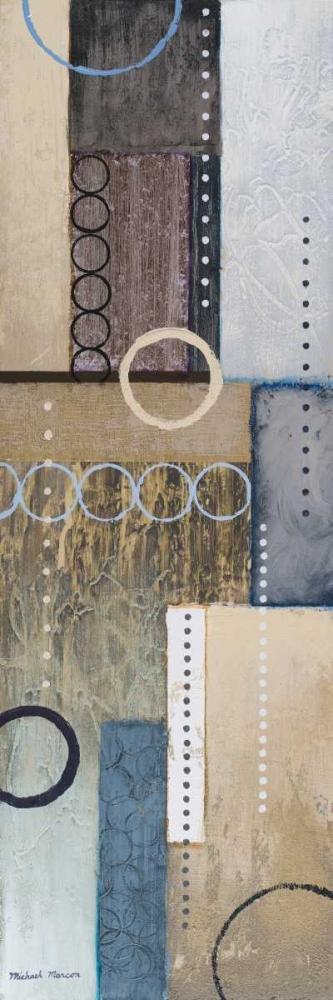 konfigurieren des Kunstdrucks in Wunschgröße Colors of Rain I von Marcon, Michael