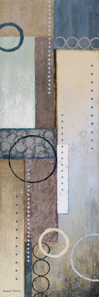 konfigurieren des Kunstdrucks in Wunschgröße Colors of Rain II von Marcon, Michael