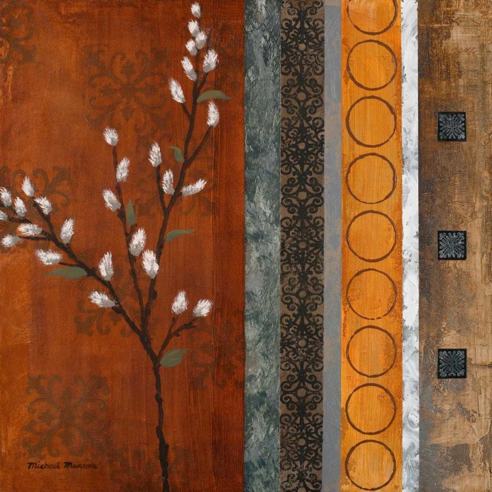 konfigurieren des Kunstdrucks in Wunschgröße Willow Stems I von Marcon, Michael